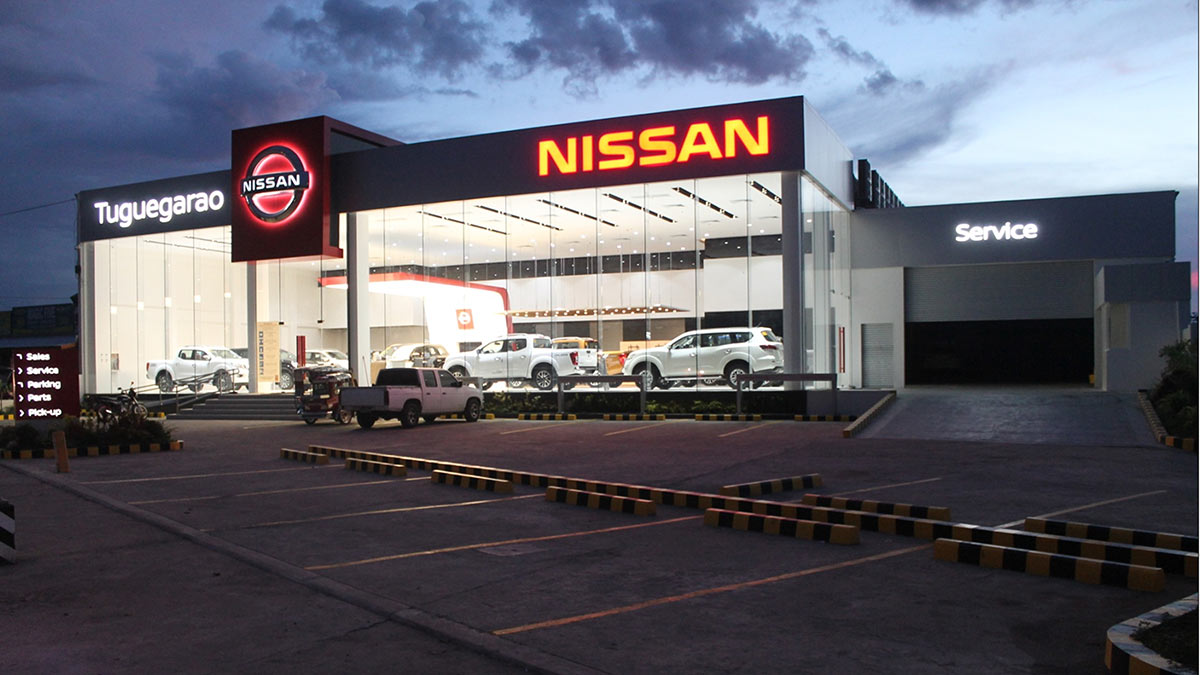 The New Nissan Tuguegarao Dealership Exterior