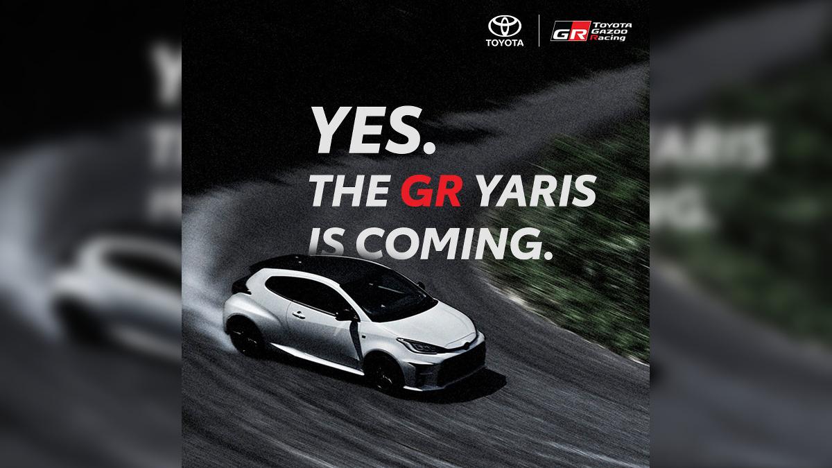 Toyota PH confirms GR Yaris arrival