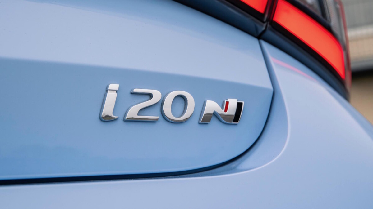 The Hyundai i20N Emblem