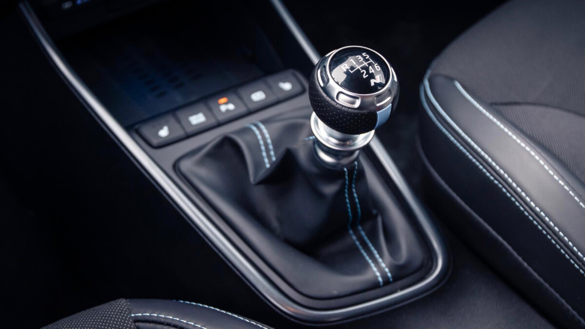 The Hyundai i20N Gear Stick