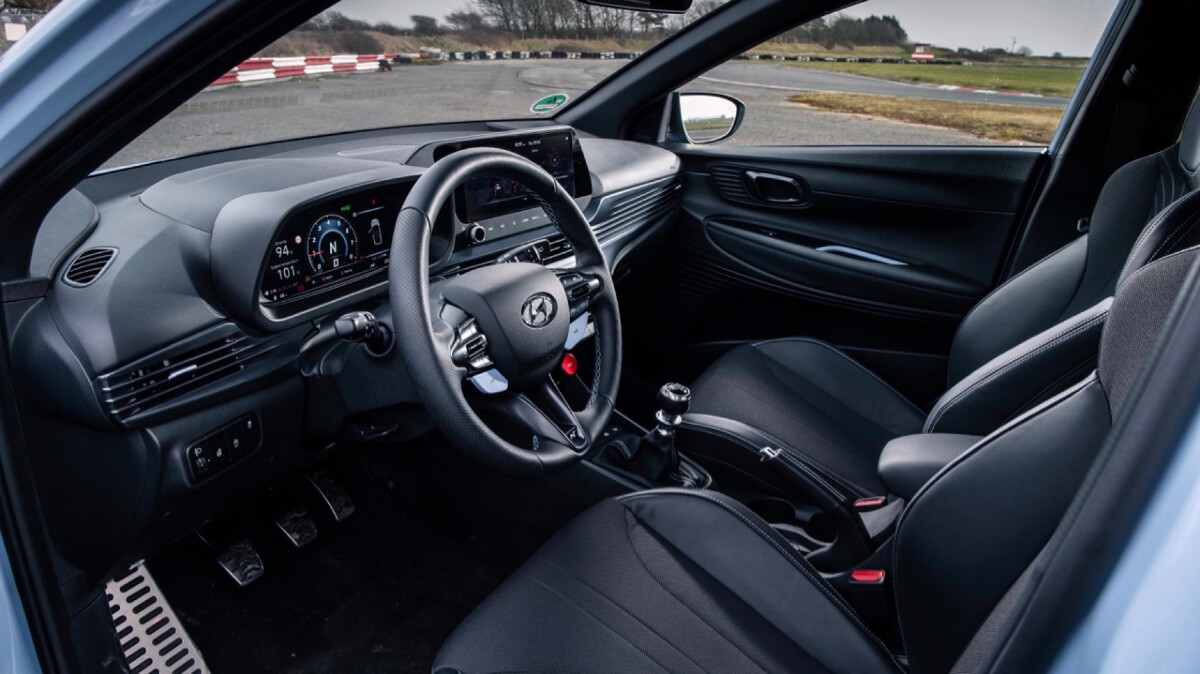 The Hyundai i20N Dashboard