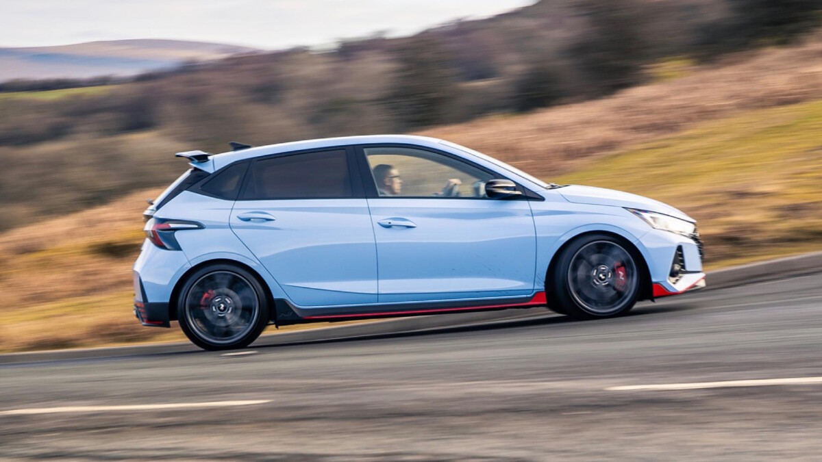 The Hyundai i20N On the Road