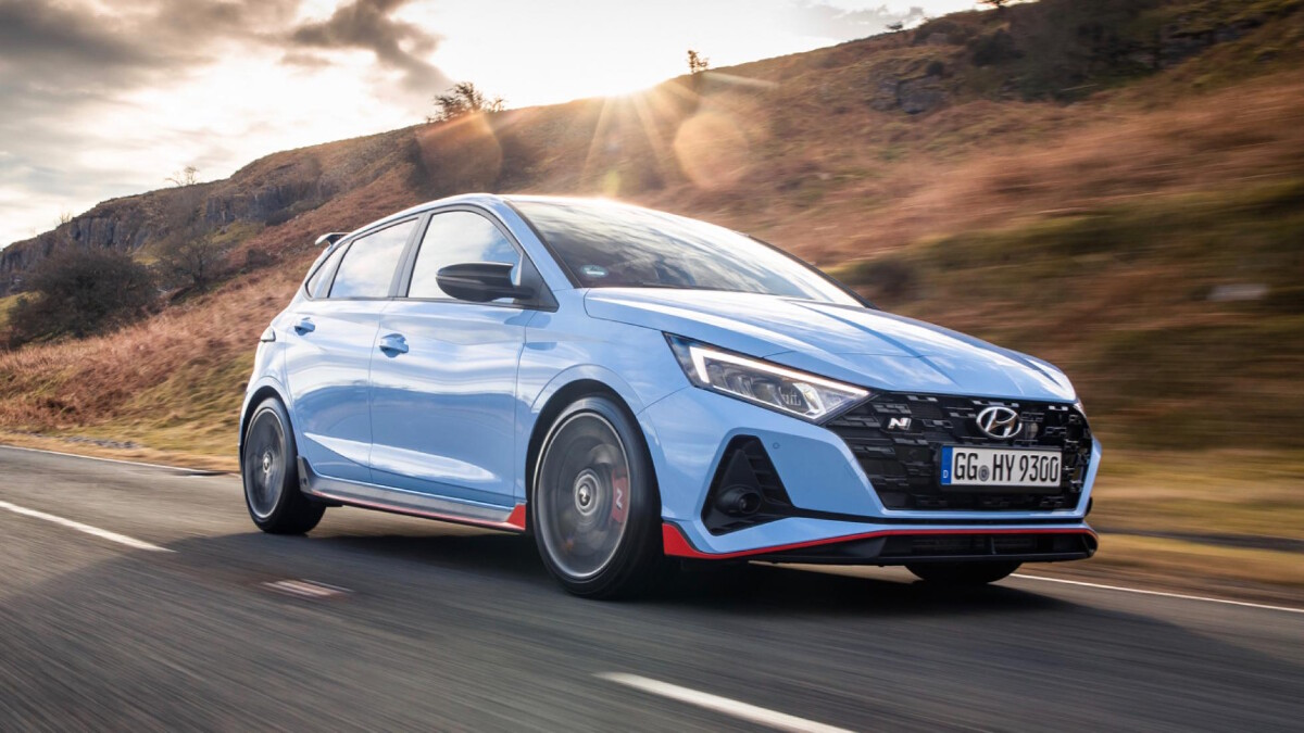 The Hyundai i20N