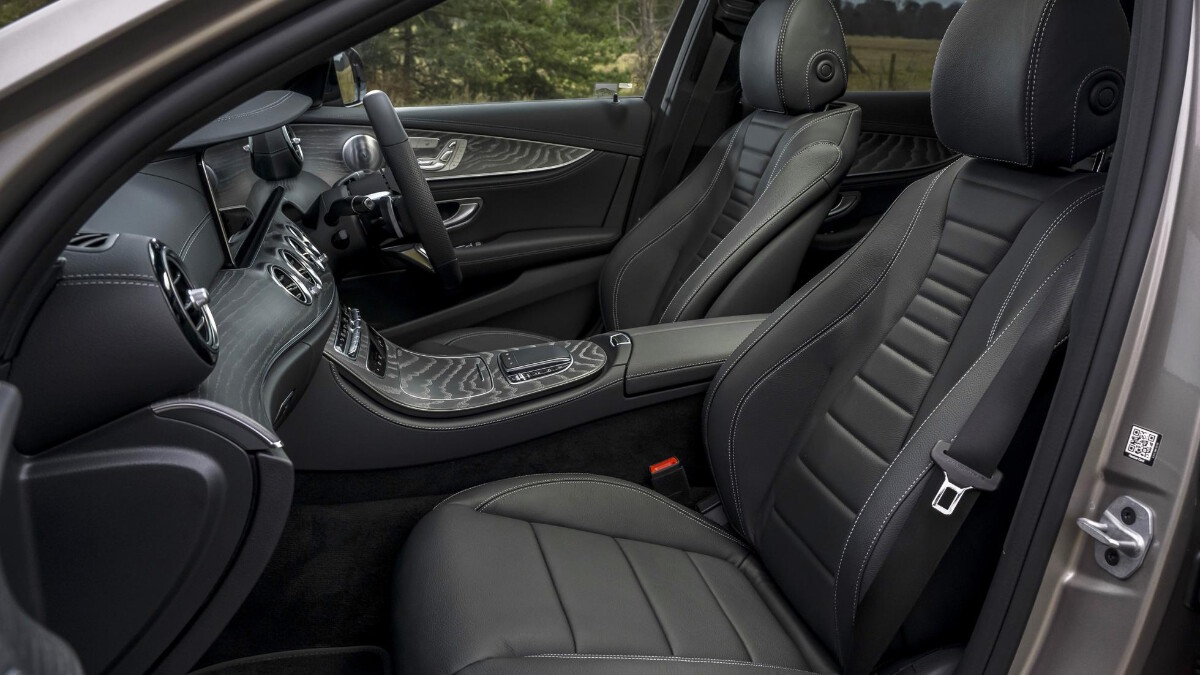 The Mercedes-Benz E220d Front Passenger Seats