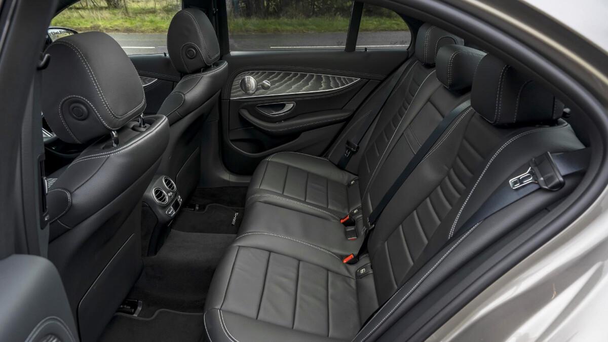 The Mercedes-Benz E220d Rear Passenger Seats