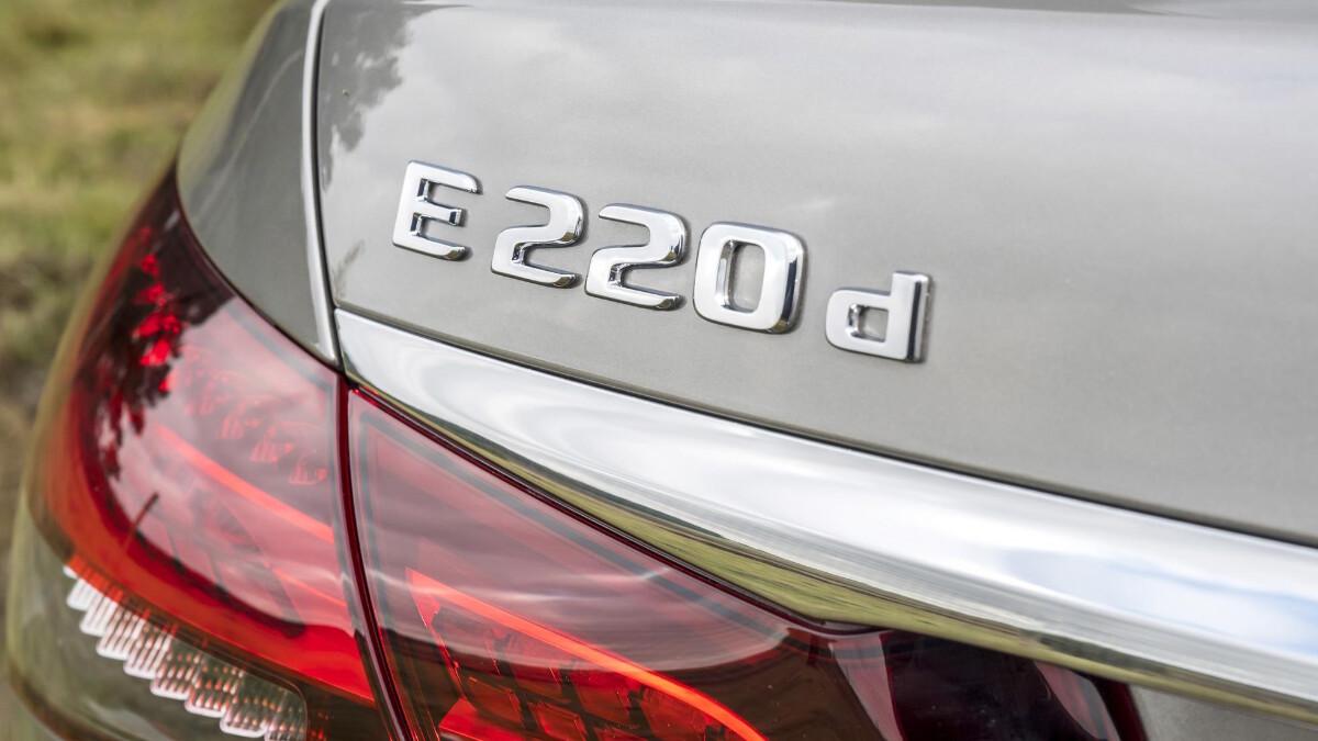 The Mercedes-Benz E220d