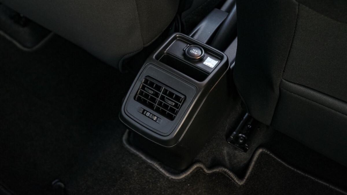 The Suzuki Dzire Center Console
