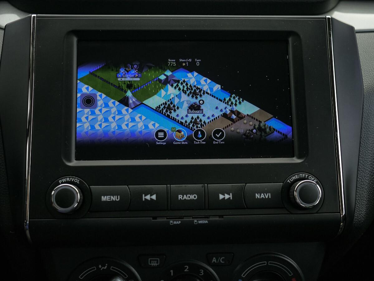 The Suzuki Dzire Multimedia Panel