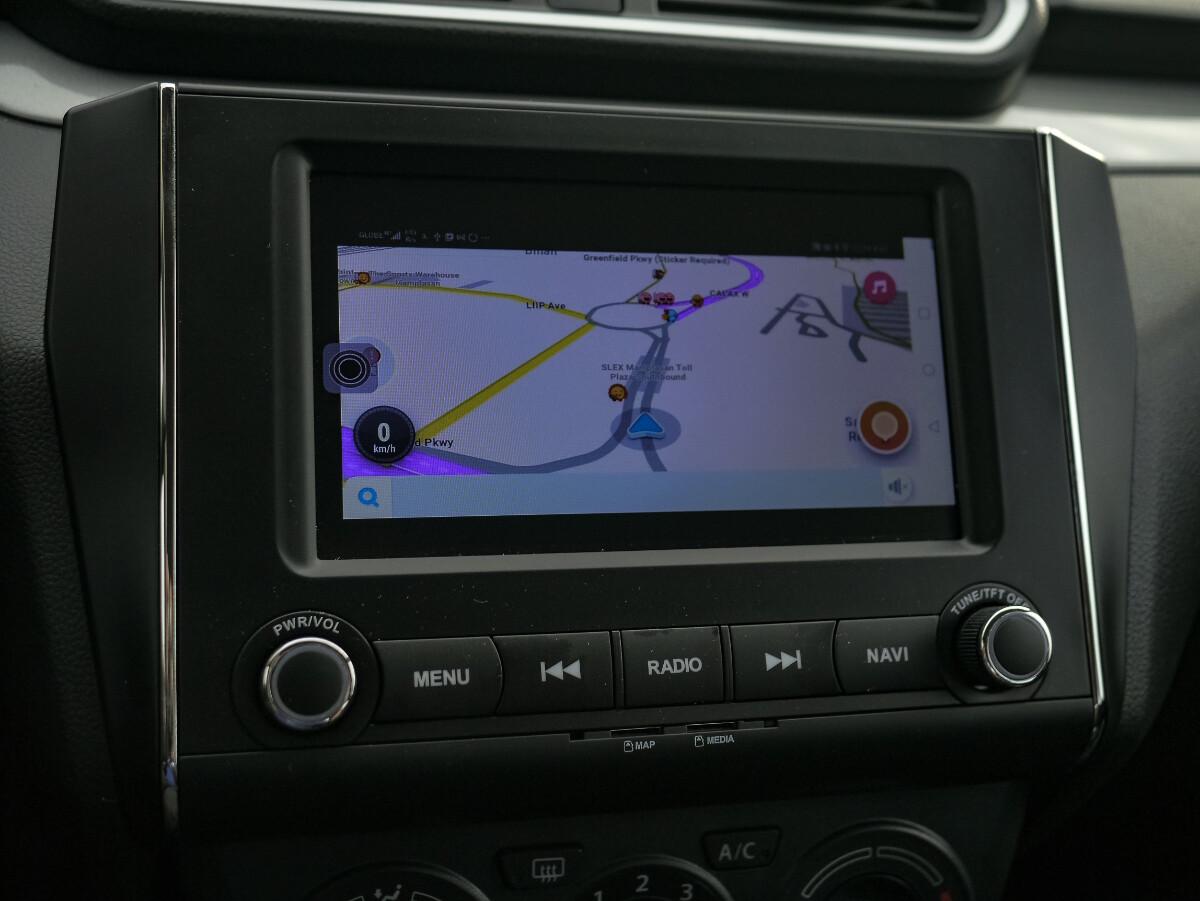 The Suzuki Dzire Media Panel as Navigation