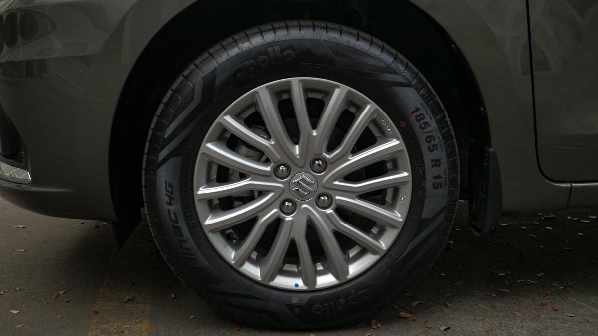 The Suzuki Dzire Front Wheel