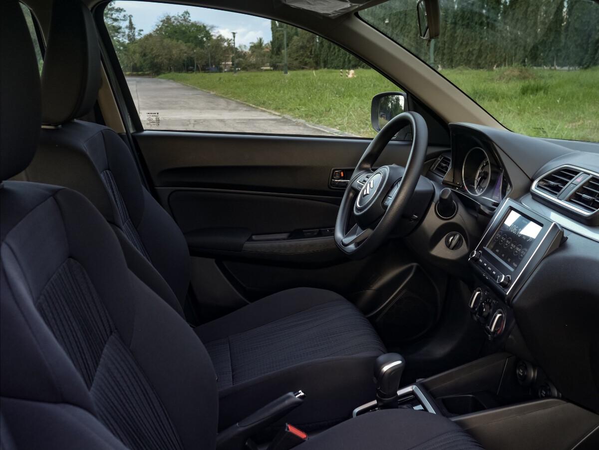 The Suzuki Dzire Front Passenger Seats