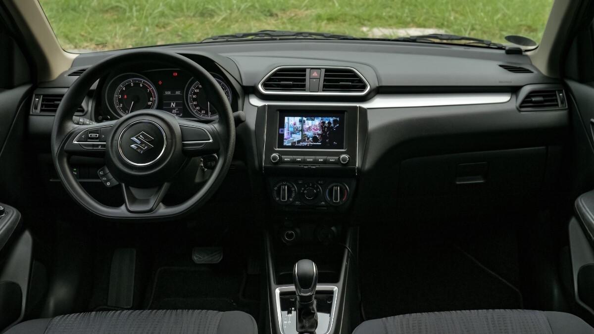 The Suzuki Dzire Dashboard