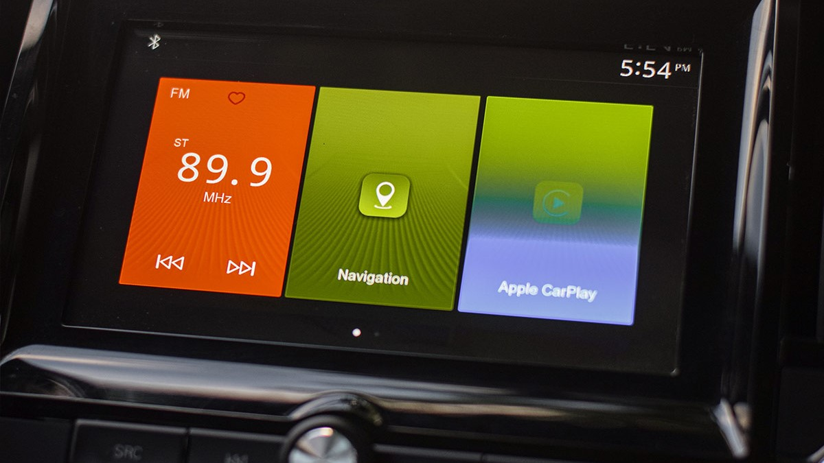 The MG RX5 Infotainment System