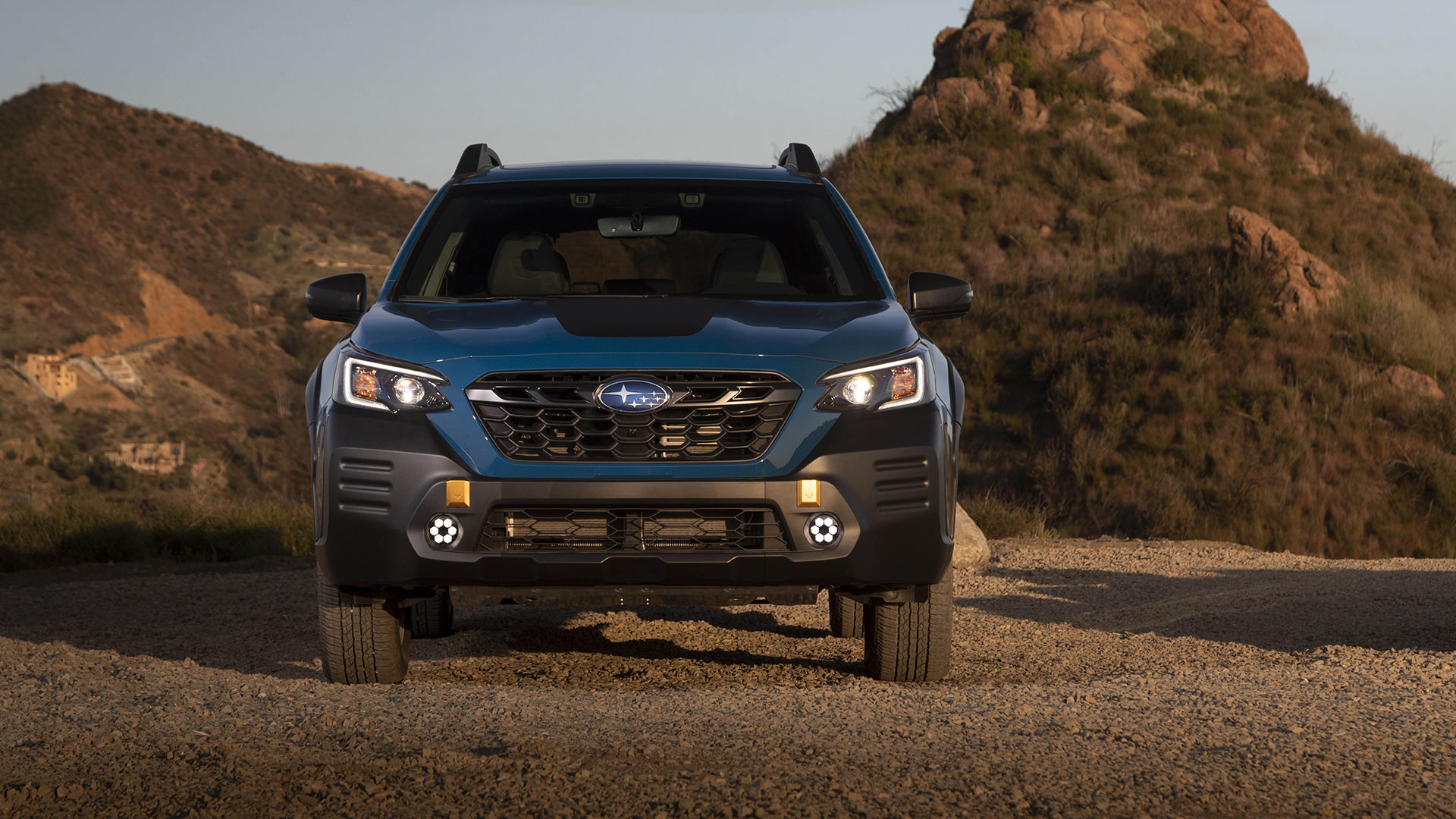 The Subaru Outback Wilderness Front View