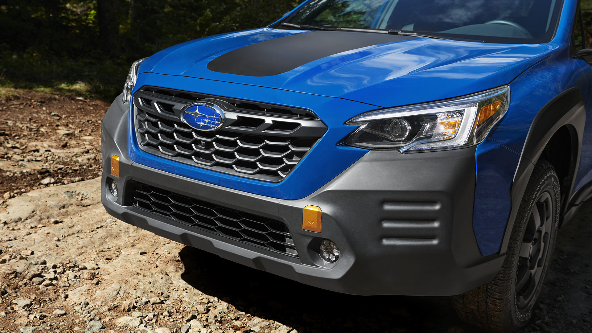 The Subaru Outback Wilderness Front Close-Up
