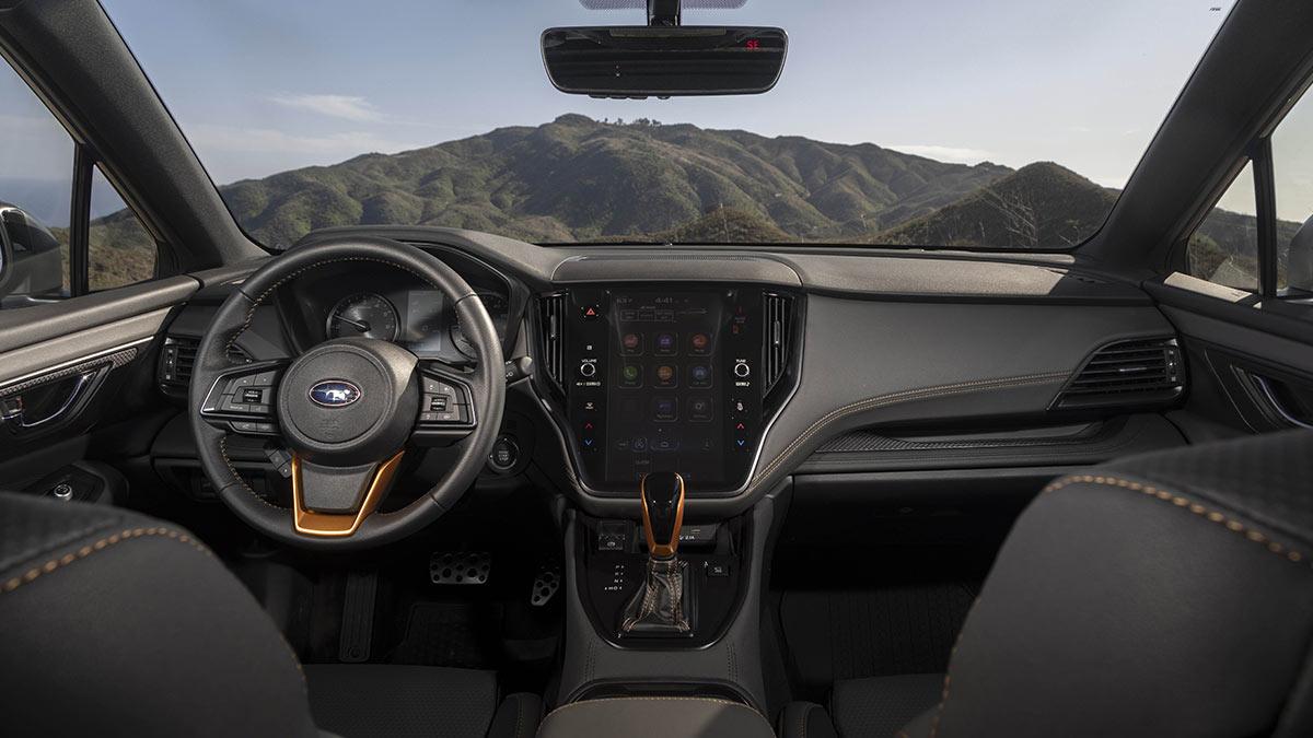 The Subaru Outback Wilderness Dashboard