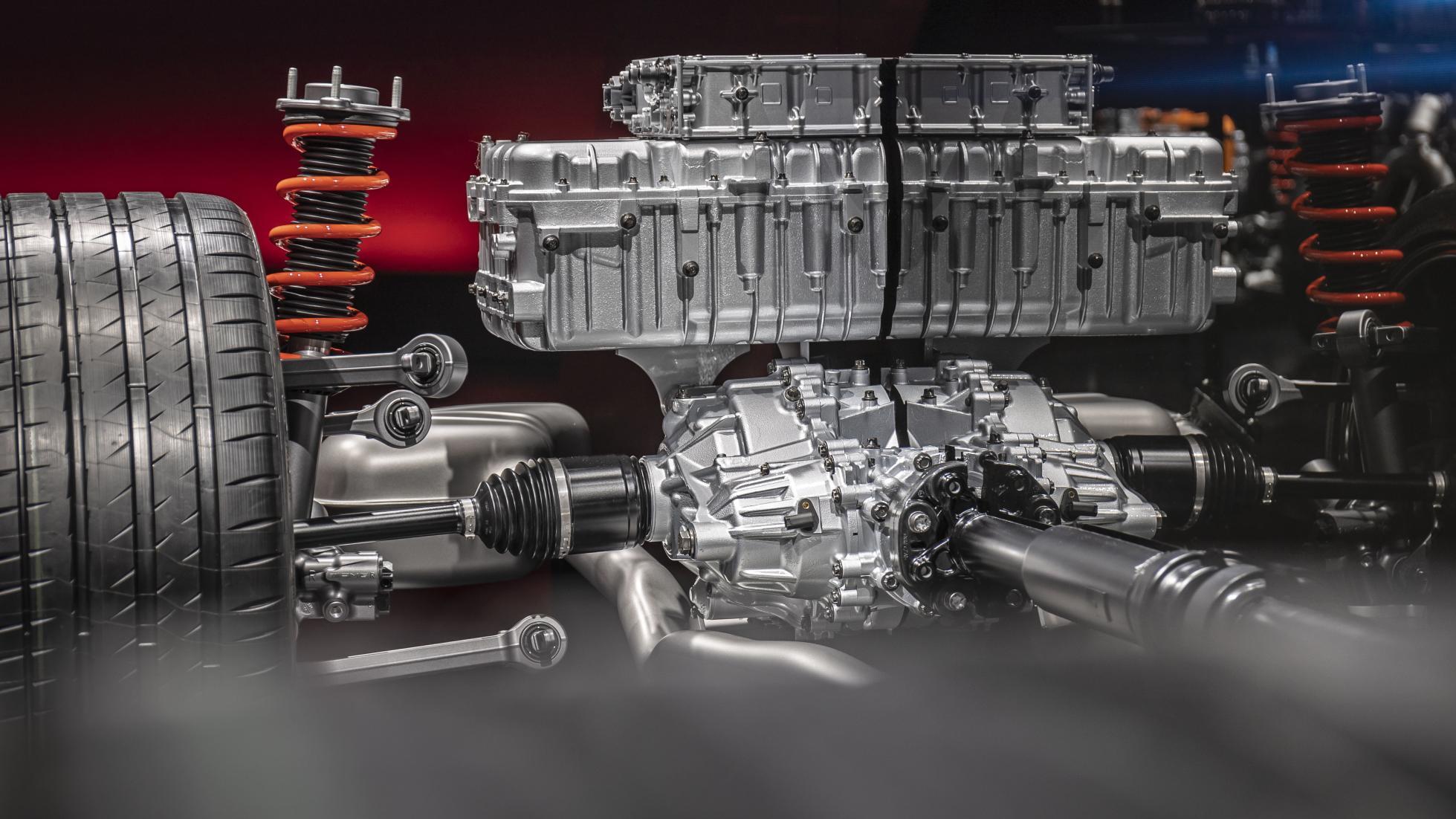 AMG C63 Engine