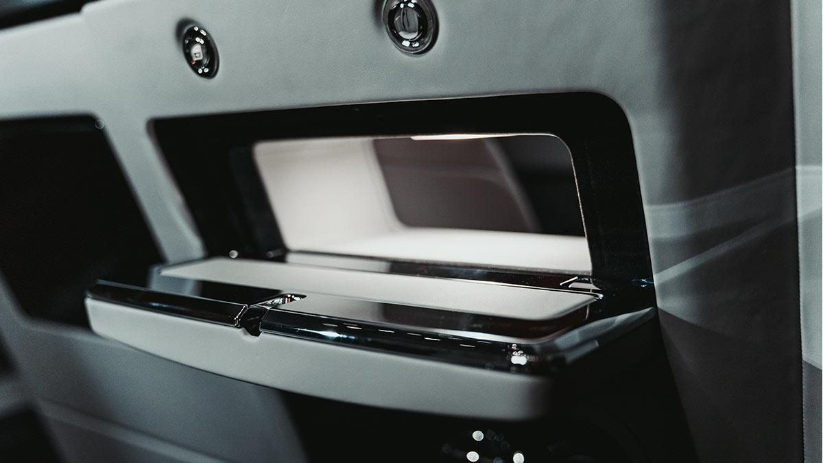 The Rolls-Royce Phantom Passenger Side Storage