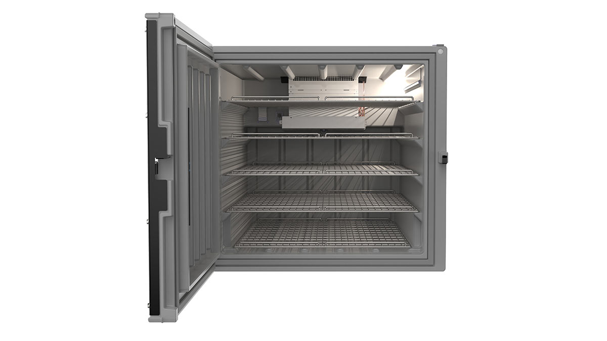 Refrigeration unit to be used on the Toyota Land Cruiser