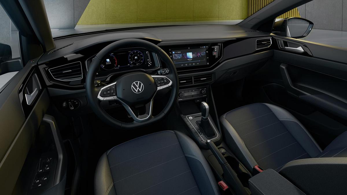 The Volkswagen Taigo Dashboard