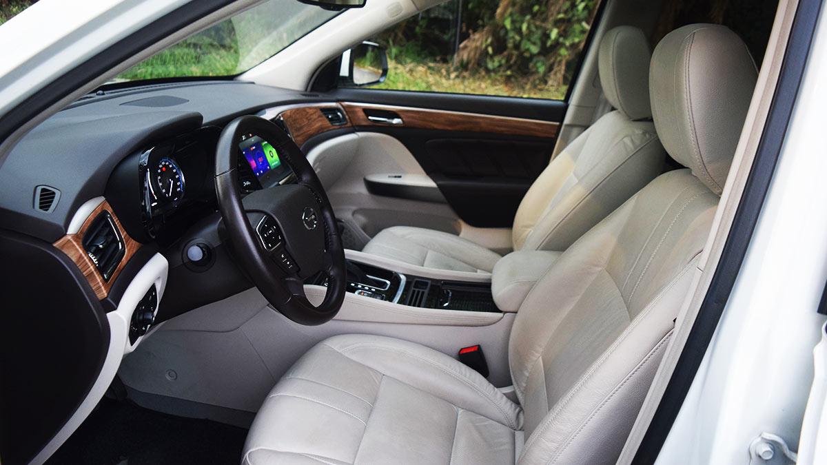 The GAC GS8 Front Passenger Seat