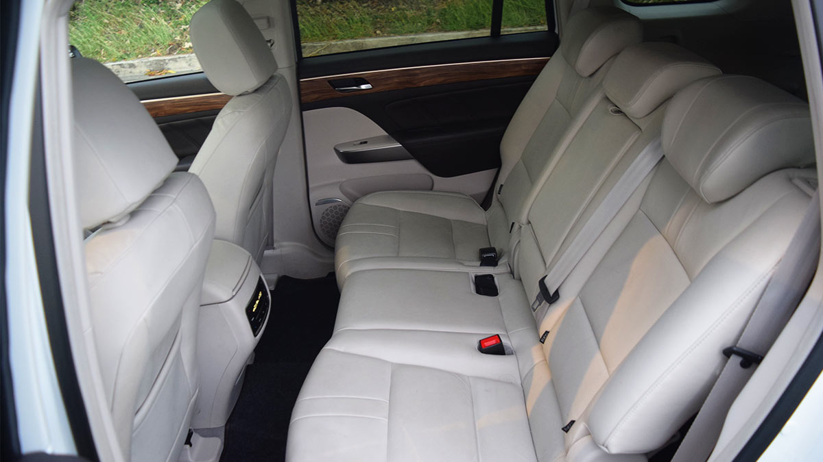 The GAC GS8 Rear Passenger Seat
