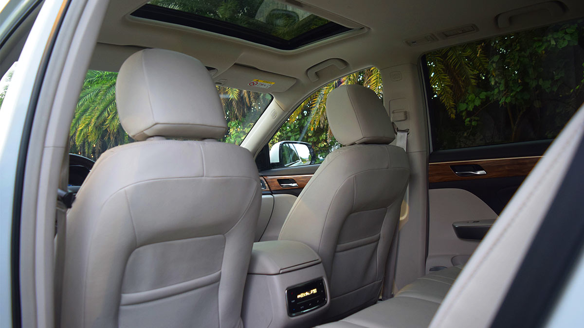 The GAC GS8 Passenger Seats