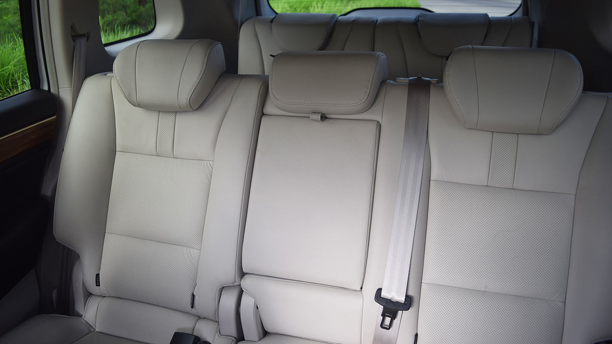 The GAC GS8 Mid and Rear Passenger Seats