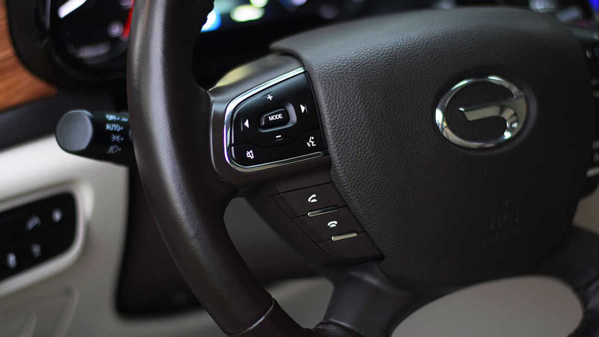 The GAC GS8 Steering Wheel
