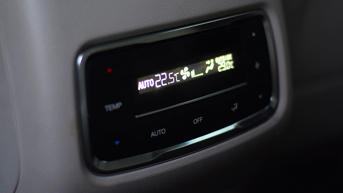 The GAC GS8 Airconditioning Controls