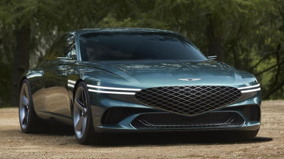 The Genesis X Concept Front View