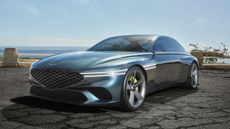 The Genesis X Concept Angled Front View
