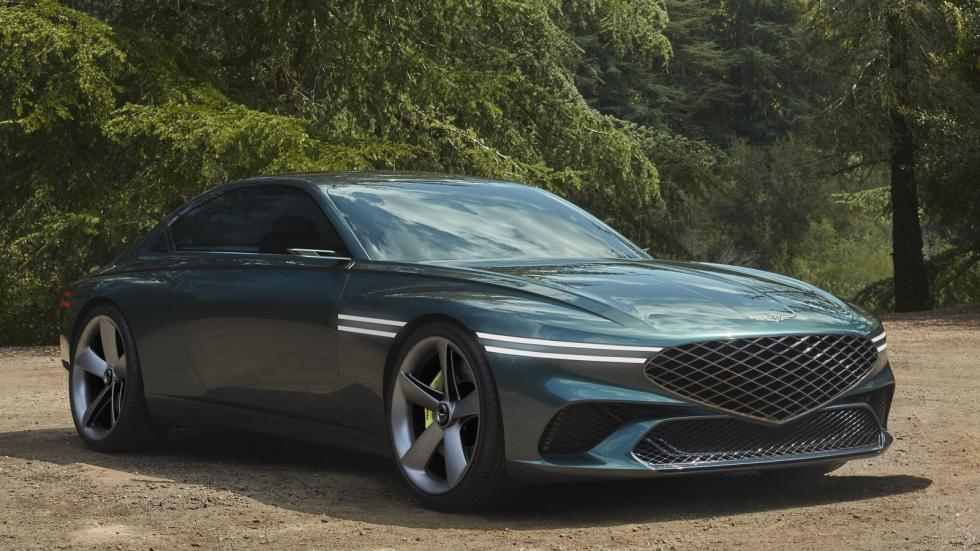 The Genesis X Concept Alternative Front View
