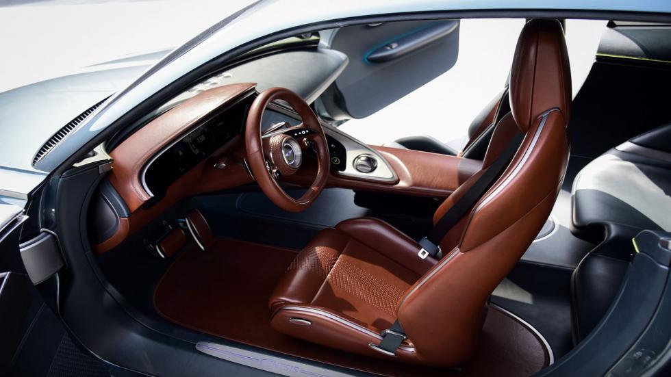 The Genesis X Concept Front Passenger Seats
