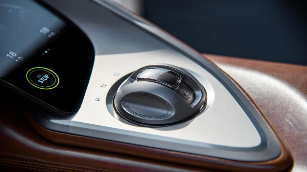 The Genesis X Concept Gear Controls