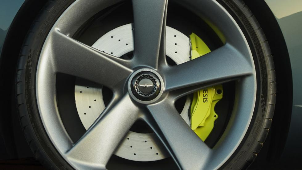 The Genesis X Concept Tire Close-Up