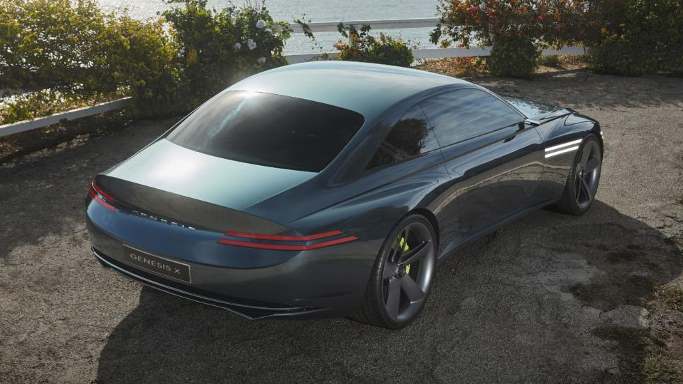 The Genesis X Concept Angled Rear Top View