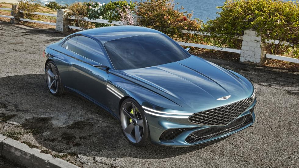 The Genesis X Concept Angled Front Top View