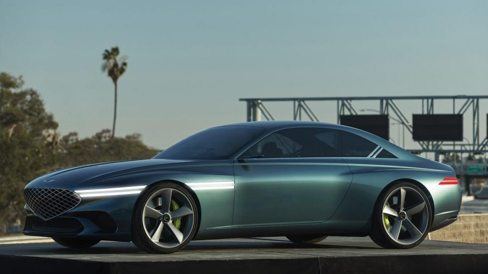 The Genesis X Concept Angled Profile