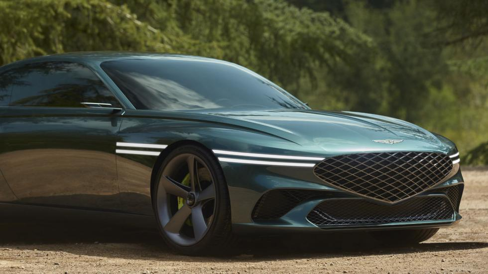 The Genesis X Concept Front Close-Up