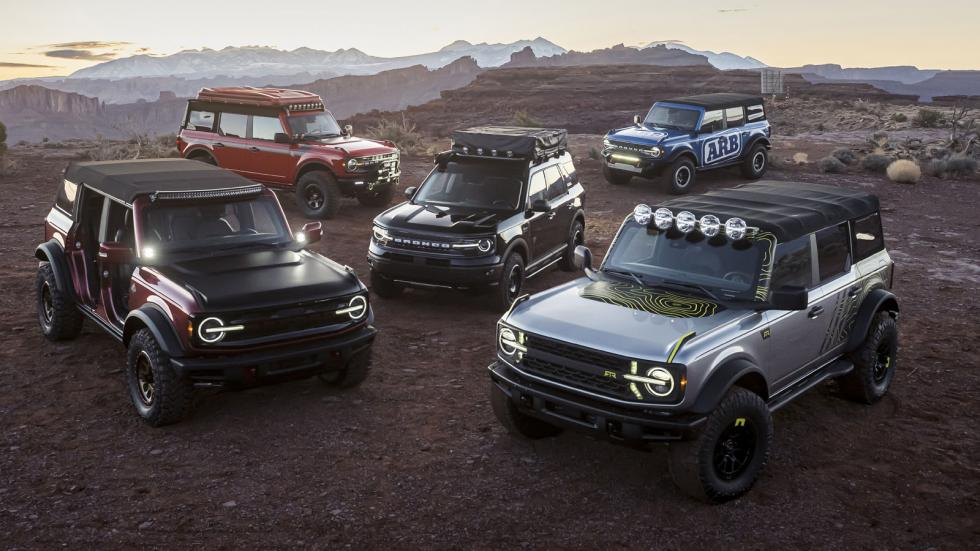 A Fleet of Ford Broncos