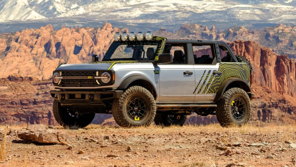 The Ford Bronco in Rough Terrain