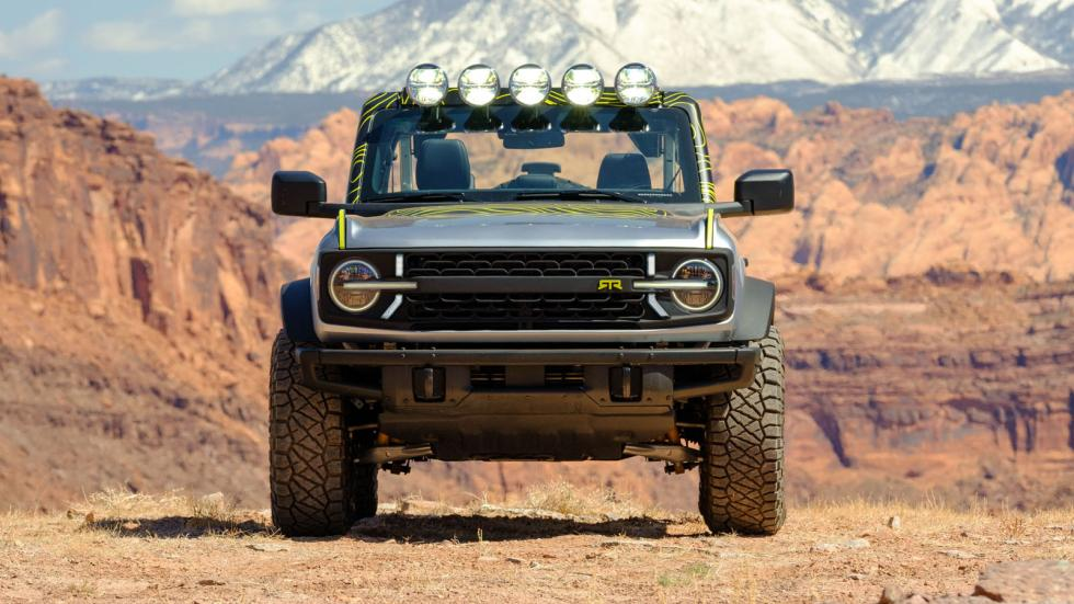 The Ford Bronco Front View