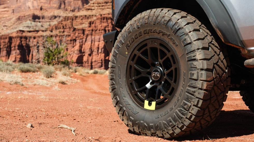 The Ford Bronco Tire Close-Up