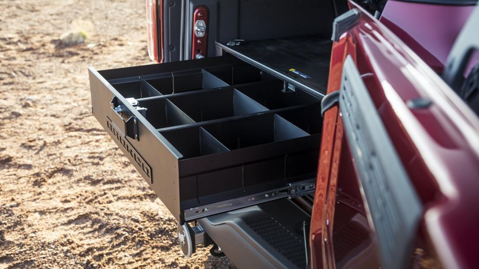 The Ford Bronco Storage Options