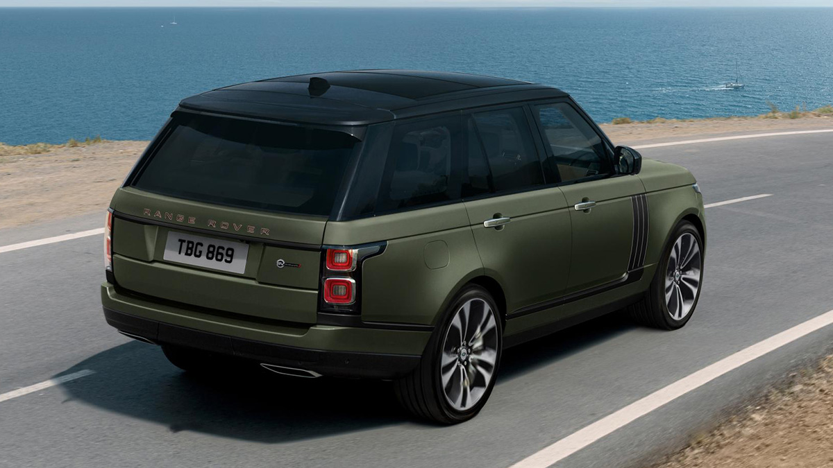 The Range Rover SVAutobiography Angled Rear View