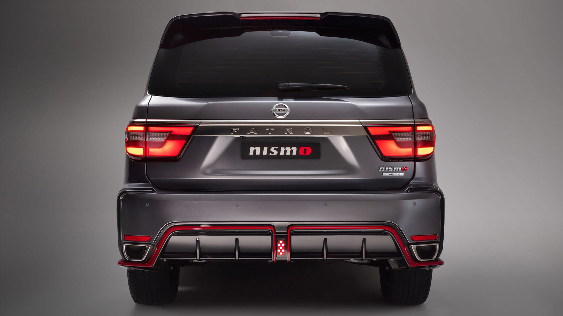 The Nissan Patrol Nismo Rear View