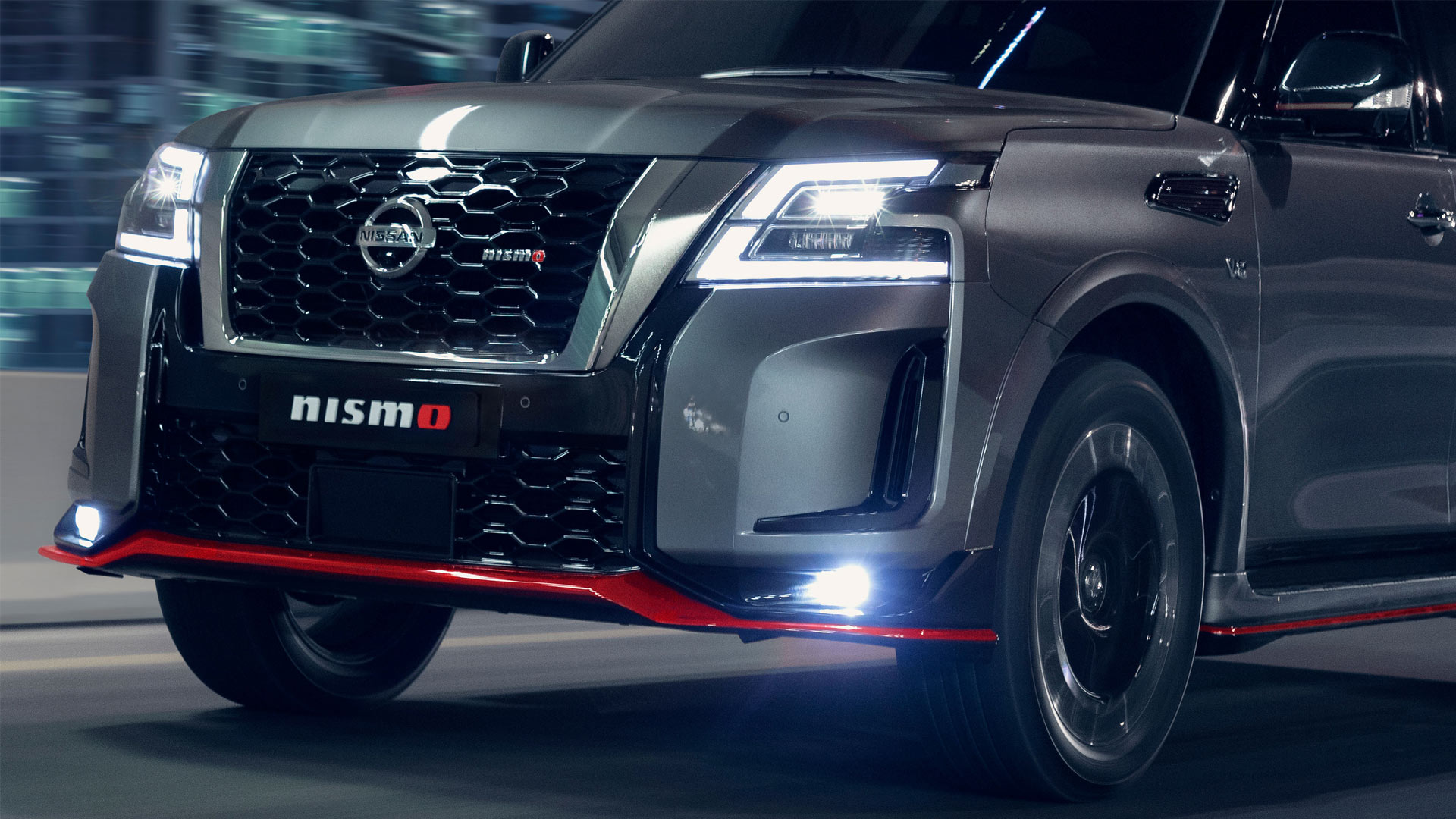 The Nissan Patrol Nismo Front Close-Up
