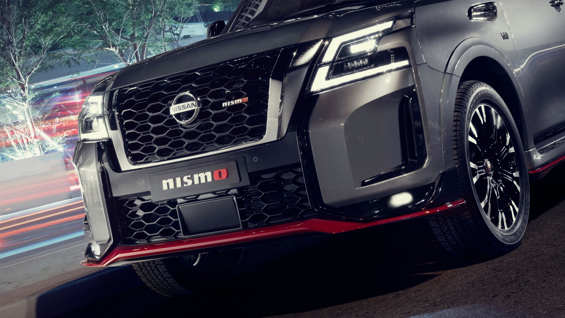 The Nissan Patrol Nismo Front Grille