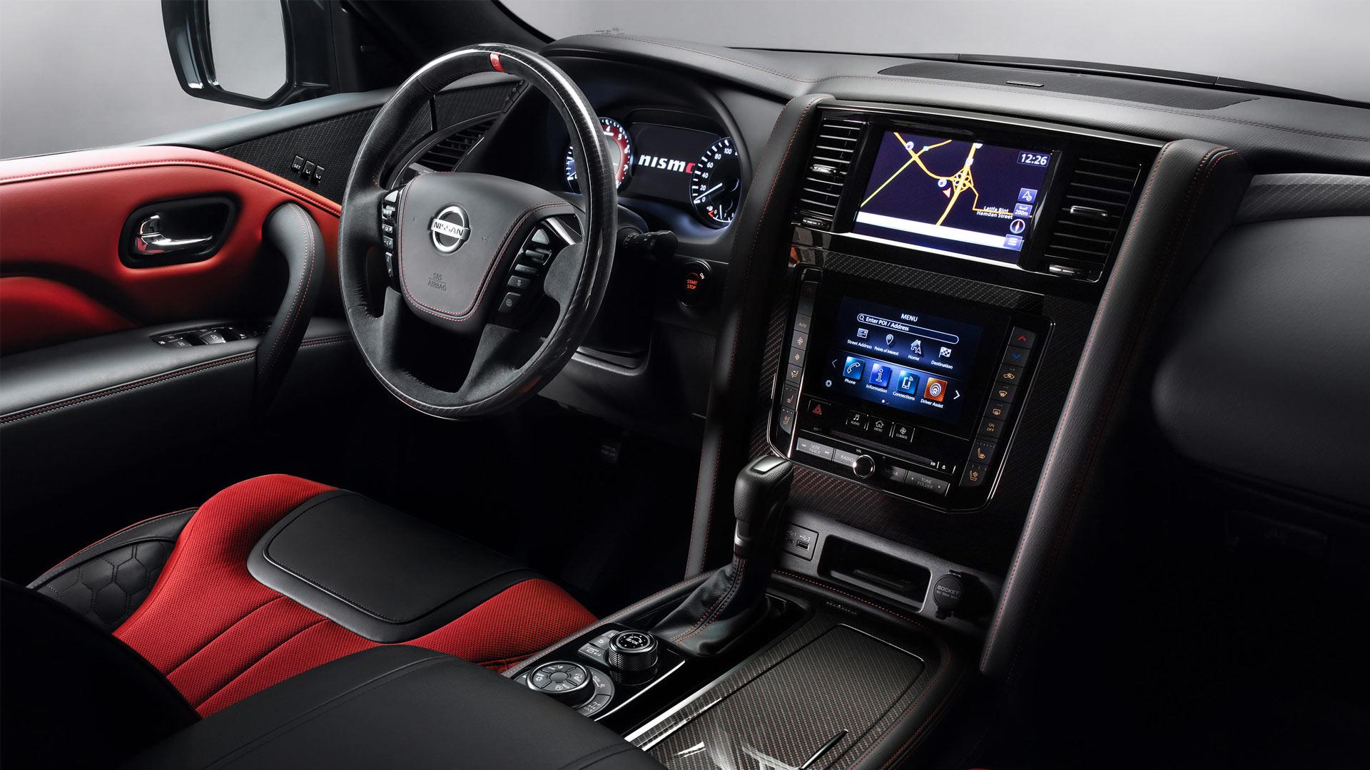 The Nissan Patrol Nismo Dashboard